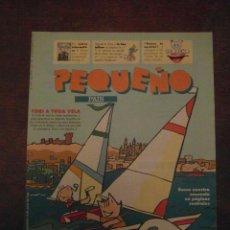 Cómics: PEQUEÑO PAIS. JULIO 1992. COBI A TODA VELA. Lote 110909379