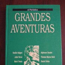 Cómics: GRANDES AVENTURAS. TOMO 3. COLECCION GRANDES AVENTURAS CON 25 HISTORIAS ENCUADERNADAS (EL PERIODICO). Lote 115181784