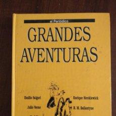 Cómics: GRANDES AVENTURAS. TOMO 4. COLECCION GRANDES AVENTURAS CON 25 HISTORIAS ENCUADERNADAS (EL PERIODICO). Lote 115181748