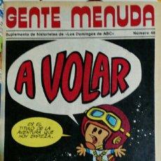 Cómics: GENTE MENUDA. VOLUMEN ENCUADERNADO QUE CONTIENE LOS NÚMEROS 39 - 64. Lote 114737154
