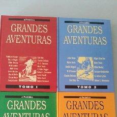 Cómics: GRANDES AVENTURAS. 4 TOMOS EL PERIÓDICO.. Lote 115102583