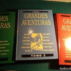 Cómics: GRANDES AVENTURAS DE EL PERIODICO. TOMOS 1-2 Y 3. NUEVOS. (H-1). Lote 115511055