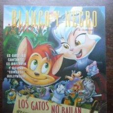 Cómics: BLANCO Y NEGRO GUAY Nº 10. 18 DE ABRIL DE 1999. LOS GATOS NO BAILAN. Lote 116677871