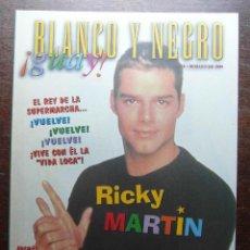 Cómics: BLANCO Y NEGRO GUAY Nº 16. 30 DE MAYO DE 1999. RICKY MARTIN. Lote 116681323