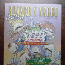 Cómics: BLANCO Y NEGRO GUAY Nº 20. 27 DE JUNIO DE 1999. RUGRATS. Lote 116682063