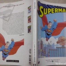 Fumetti: TEBEOS Y COMICS:SUPERMAN 1. GRANDES HÉROES DEL CÓMIC. BIBLIOTECA EL MUNDO. MARVEL COMICS (ABLN). Lote 116874619