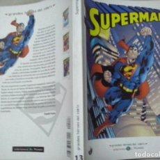 Fumetti: TEBEOS Y COMICS:SUPERMAN 3. GRANDES HÉROES DEL CÓMIC. BIBLIOTECA EL MUNDO. MARVEL COMICS (ABLN). Lote 116874887