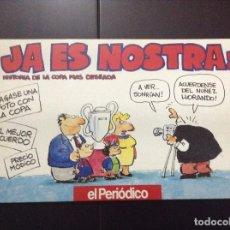 Cómics: EL PERIODICO DE CATALUNYA SUPLEMENTO GRATUITO 1992 JA ES NOSTRA!. Lote 117534747