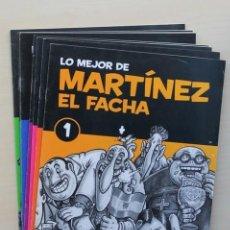 Cómics: LO MEJOR DE MARTINEZ EL FACHA. Nº 1 AL 9 - KIM (JOAQUIM AUBERT). Lote 120181576