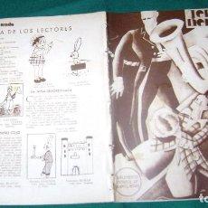 Cómics: GENTE MENUDA SUPLEMENTO INFANTIL DIARIO BLANCO Y NEGRO REPUBLICA ESPAÑOLA 3-4-1932 CJ 22. Lote 120701427