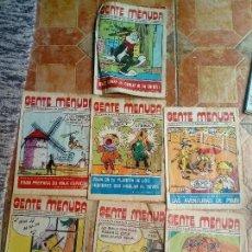 Cómics: 7 COMIC TEBEO GENTE MENUDA SUPLEMENTO ABC NUMERO 21 33 24 15 16 14. Lote 125073255