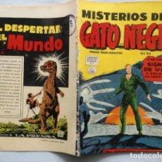 Cómics: MISTERIOS DEL GATO NEGRO N°54 /1957 TEBEO LA PRENSA COMIC. Lote 127263071
