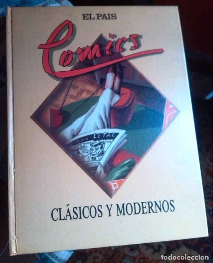 COMICS CLASICOS Y MODERNOS-EL PAIS (1988) (Tebeos y Comics - Suplementos de Prensa)