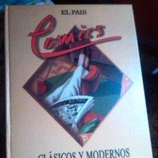 Cómics: COMICS CLASICOS Y MODERNOS-EL PAIS (1988). Lote 128219815