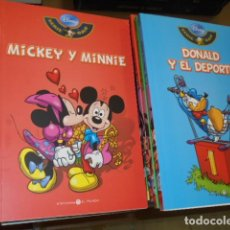 Comics : DISNEY SERIE ORO COMPLETA 40 NUMEROS - BIBLIOTECA EL MUNDO -. Lote 129502814