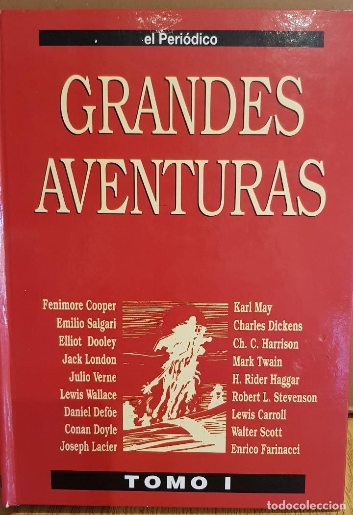 GRANDES AVENTURAS / TOMO I ENCUADERNADO / ED - EL PERIÓDICO / 25 CÓMIC-HISTORIETAS. (Tebeos y Comics - Suplementos de Prensa)