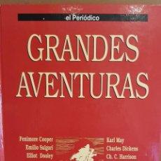 Cómics: GRANDES AVENTURAS / TOMO I ENCUADERNADO / ED - EL PERIÓDICO / 25 CÓMIC-HISTORIETAS.. Lote 129059795