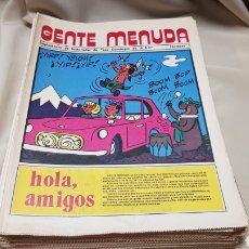 Cómics: 61 SUPLEMENTOS DE HISTORIETAS DE LOS DOMINGOS DE A B C .1976. Lote 130226730