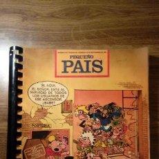 Cómics: LOTE DE 25 NÚMEROS PEQUEÑO PAIS. DEL 513 AL 537 CORRELATIVOS.1991 -1992. DOMINICAL EL PAÍS. Lote 131108608