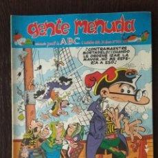 Cómics: GENTE MENUDA ABC III EPOCA N°260. Lote 132152870