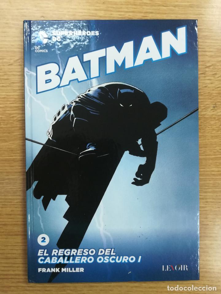 SUPERHEROES DC #2 BATMAN EL REGRESO DEL CABALLERO OSCURO I (ECC EDICIONES - LEVOIR) (Tebeos y Comics - Suplementos de Prensa)