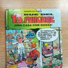 Cómics: 13 RUE DEL PERCEBE UNA CASA CON GUASA (GRANDES DEL HUMOR #8 - EL PERIODICO). Lote 133238462