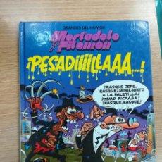 Cómics: MORTADELO Y FILEMON PESADIIIILLLAAA (GRANDES DEL HUMOR #2 - EL PERIODICO). Lote 133238834