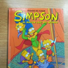 Cómics: SIMPSON EL MAYOR OH DEL MUNDO (GRANDES DEL HUMOR #13 - EL PERIODICO). Lote 133245426