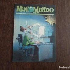 Cómics: SEMANARIO JUVENIL DE EL MUNDO, MINIMUNDO, NÚMERO 54 OCTUBRE 1995. Lote 140180634