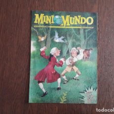 Cómics: SEMANARIO JUVENIL DE EL MUNDO, MINIMUNDO, NÚMERO 45 AGOTO 1995. Lote 140181118