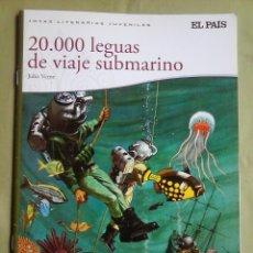 Cómics: 20.000 LEGUAS DE VIAJE SUBMARINO - JULIO VERNE - EDICIONES EL PAIS 2010. Lote 140300810
