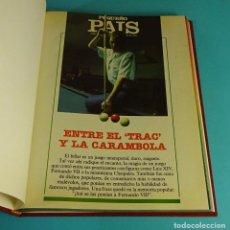Cómics: PEQUEÑO PAÍS. 37 NÚMEROS DEL AÑO 1984 ENCUADERNADOS. Lote 140654513