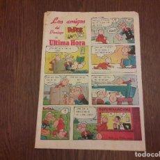 Cómics: SUPLEMENTO DE PRENSA LOS AMIGOS DEL DOMINGO DE ULTIMA HORA, AÑO 1986. Lote 142600122