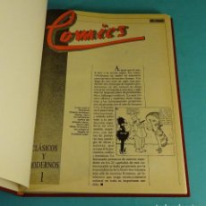 Cómics: HISTORIA DEL COMIC. EL PAÍS. 23 FASCÍCULO ENCUADERNADOS. FALTAN LOS Nº 7 Y 8. Lote 142691218