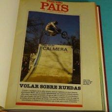 Cómics: PEQUEÑO PAÍS. 46 NÚMEROS ENCUADERNADOS DEL 163 (13/01/1985) AL 265 (28/12/1986). Lote 143612253