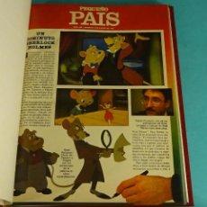 Cómics: PEQUEÑO PAÍS. 45 NÚMEROS ENCUADERNADOS DEL 266 (4/01/1987) AL 317 (27/12/1987). Lote 143614026