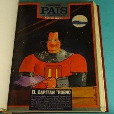 Cómics: PEQUEÑO PAÍS. 45 NÚMEROS ENCUADERNADOS DEL 370 (31/12/1988) AL 421 (24/12/1989). Lote 143615782