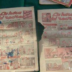 Fumetti: LA HORA DEL RECREO SUPLEMENTO INFANTIL LEVANTE 142 163 CJ 13. Lote 143850626