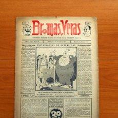 Cómics: BROMAS Y VERAS Nº 1 - PUBLICADO POR DELGADO BARRETO EN 1932 - TAMAÑO 42X30 CM.. Lote 146492478