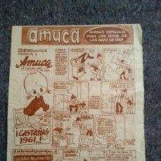 Cómics: AMUCA - ¡CASTAÑAS 1961..! - PISTÓN Y PANCHO TEQUILA. Lote 147294346
