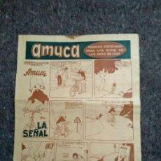 Cómics: AMUCA - LA SEÑAL - POPEYE, PISTÓN Y PANCHO TEQUILA. Lote 147294610