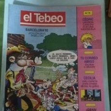 Cómics: EL TEBEO NUM. 72. Lote 147555328