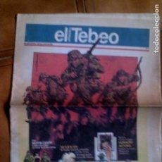 Cómics: DIARIO EL PERIODICO EDICION EL TEBEO N,3. Lote 147675818