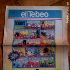 Cómics: DIARIO EL PERIODICO SUPLEMENTO EL TEBEO N,9. Lote 147675942
