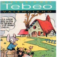 Cómics: HISTORIA DEL TEBEO VALENCIANO NÚM 8: AUTORES DE LOS TEBEOS CÓMICOS. Lote 149715738
