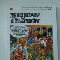 Cómics: MORTADELO Y FILEMÓN. Nº 22. LAS MEJORES HISTORIETAS DEL CÓMIC ESPAÑOL. BIBLIOTECA EL MUNDO. Lote 151853314