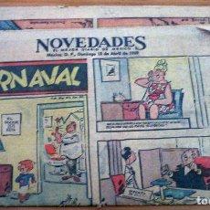 Cómics: NOVEDADES - AÑO 1969 - BUEN ESTADO. Lote 152578822