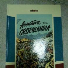 Cómics: AVENTURA EN GROENLANDIA EL PAIS. Lote 153457530