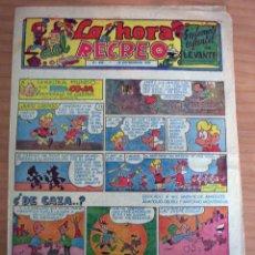 Cómics: LA HORA DEL RECREO - SUPLEMENTO INFANTIL DE LEVANTE - NÚM. 359 - AÑO 1959 - MUY BUEN ESTADO. Lote 154616130