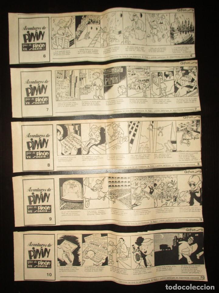 Cómics: AVENTURES DE PINÍN, POR ALFONSO. TIRAS COLECCIONABLES 1 A 30 PUBLICADAS POR LA NUEVA ESPAÑA EN 1985. - Foto 4 - 155692170